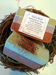 Cocoa Mint Buttermilk All Natural Soap
