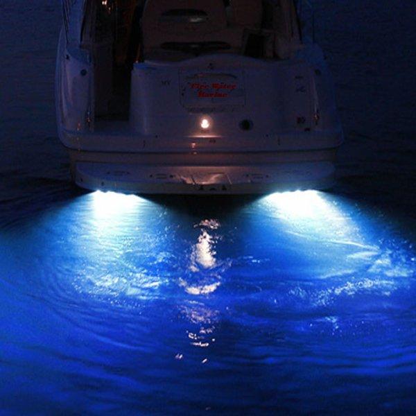 50w 4000 Lumen Garboard Boat Drain Plug Light Fire Water