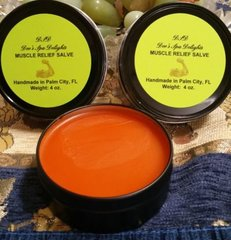 Muscle Relief Salve-Organic Relief for Achy Muscles