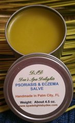 Psoriasis & Eczema Salve-Natural Remedy for getting rid of painful, itching sores