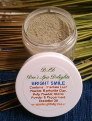 Bright Smile Tooth Powder - Natural Remedy for fighting plaque and brightening your smile