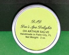 Oh Arthur Salve-Organic Remedy for Arthritis Pain