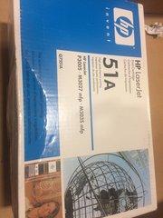 HP LASERJET 51A PRINT CARTRIDGE NEW