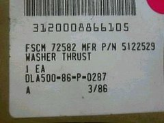 DETROIT DIESEL THRUST WASHER BLOWER DIRVE GEAR 3.4320 NOS