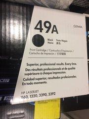 HP LASERJET 49A PRINTER CARTRIDGE Q5949A BLACK NEW