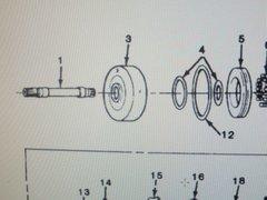 M1008 M1009 CLUTCH PARTS KIT 8624908 NOS