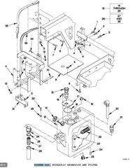 M1078 FLUID FILTER ELEMENT 931558, 2940-01-363-4377 NOS