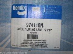 BENDIX BRAKE SHOE LINING SET 974110N NOS