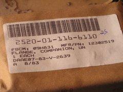 M151 COMPANION FLANGE 12302519 NOS