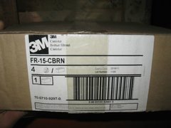 CASE 3M FR-15 CBRN GAS MASK CANISTERS NEW