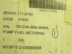 MEP-002A, 5KW GENERATOR FUEL PUMP 147-0232, 2910-01-171-6792 NOS