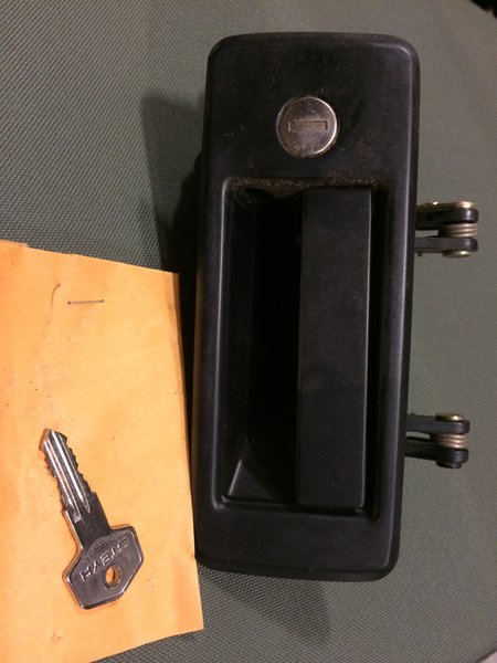 M1078 Outside Door Handle 12417493 001 2540 01 376 3999