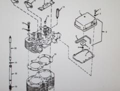 MEP-002A 5 KW GENERATOR ENGINE GASKET KIT 168-0135, 5330-01-039-6599 NOS