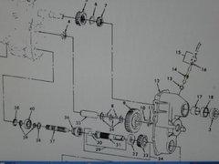 M151 JEEP TRANSFER PARTS KIT 5702248 NOS