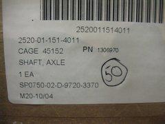 M900 SERIES HEMTT AXLE SHAFT 1306970, 2520-01-151-4011 NOS