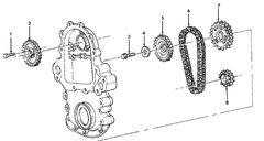 6.5L ENGINE WHEEL SPROCKET 1015489 NOS