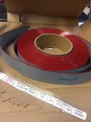 ALPHA 100' FT FLAT RIBBON, 25 CONDUCTOR, 28AWG, STRANDED, PVC, 300V NOS