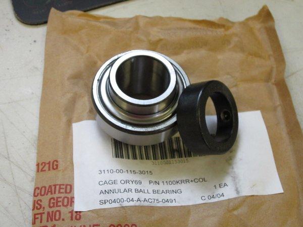 Fafnir Annular Ball Bearing 1100krrc1 Nos Equipment