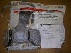 3M HALF FACED RESPIRATOR 5201 NOS