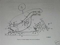 M35 2 1/2 TON PUSH PULL ENGINE STOP 10872080-2 NOS