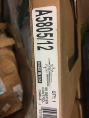 GLENDINNING NW CONTROL 95 SERIES CABLE A5805/12 NOS