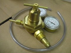 VICTOR 0781-0528 HEAVY DUTY INERT GAS REGULATOR GOOD CONDITION