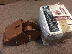 DUTTON-LAINSON BRAKE WINCH DLB1500A 1500 LB NOS (HANDLE NOT INCLUDED)