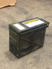 M548 SHIPPING AND STORAGE CARTRIDGE CONTAINER 7258943, FD20364, 8140-00-739-0233 USED