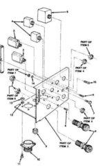 M1008 M1009 HEATER CONTROL PANEL 14076287 NOS
