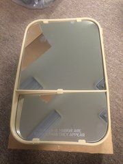 M998 L.H. MIRROR HEAD TAN, 4105295, 1305A, 2540-01-487-3626 NOS