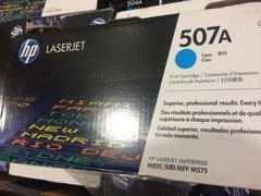 HP LASERJET 507A PRINTER CARTRIDGE CE401A CYAN NEW