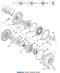M1078 RING LOCKUP SEAL 23046868 NOS