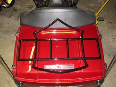 Custom Motorcycle Luggage Racks