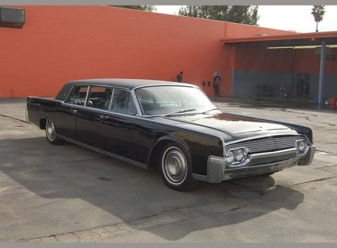 1961 Lincoln Lehman Peterson Limousine Runs And Drives