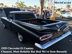1959 Chevrolet El Camino - Rat Rod Custom -- Complete in Every Way