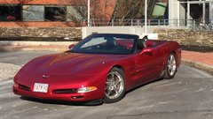 2004 Custom Chevrolet Corvette C5 Convertible -- Lowered, Custom Z06 Features, Magnet Red Metallic