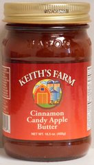 KF Candy Apple Butter 16.5 oz.
