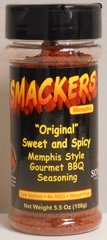 Smackers Original BBQ Rub 5.5 oz.