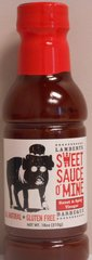 Lambert's Sweet Sauce O'Mine Sweet & Spicy 18 oz.