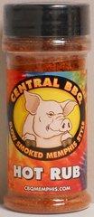 Central BBQ Hot Rub