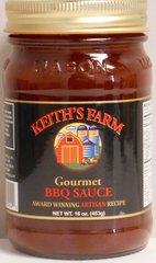 KF Gourmet BBQ Sauce 16 oz.