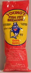 Young's Extra Spicy Fish Fry Breading 10 oz.