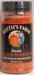 KF Sweet BBQ Rub Seasoning 12 oz.