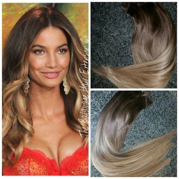 210 caramel brown balayage hair extensions clip in set 210 caramel brown balayage hair extensions clip in set pmusecretfo Choice Image