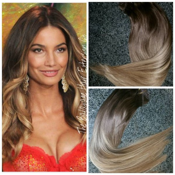 210 caramel brown balayage hair extensions clip in set 210 caramel brown balayage hair extensions clip in set pmusecretfo Gallery