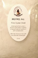 MLFAS, Inc. Fine Oyster Shell™ - 12oz