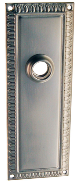 8767-B-BN - B&M BRUSHED NICKEL STAPMED PASSAGE BACK PLATE | First ...