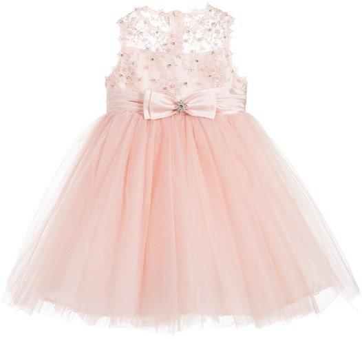 Couche tot eva dress flower girl dressspecial occasion dress eva princess dress dusky pink mightylinksfo