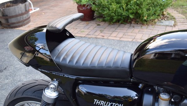 Custom Cafe Racer Storage Quot Glove Box Quot Seats Wilder Factory
