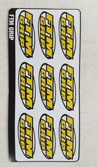 FTM Grip Decals 8 per sheet/ out of stock